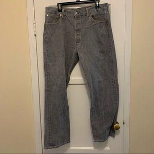 Levi's 501 grey jean